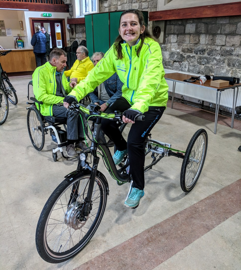 Charlottes Custom Trike